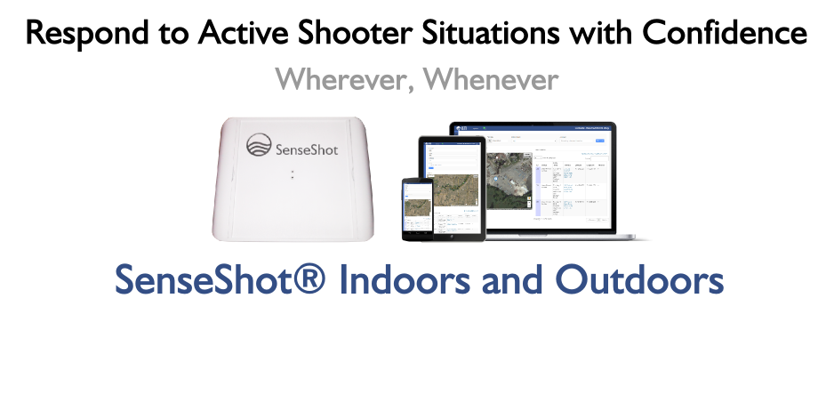 SenseShot® Indoor and Outdoor Gunshot Detection Systems